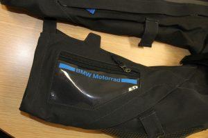 BMW useful arm pocket