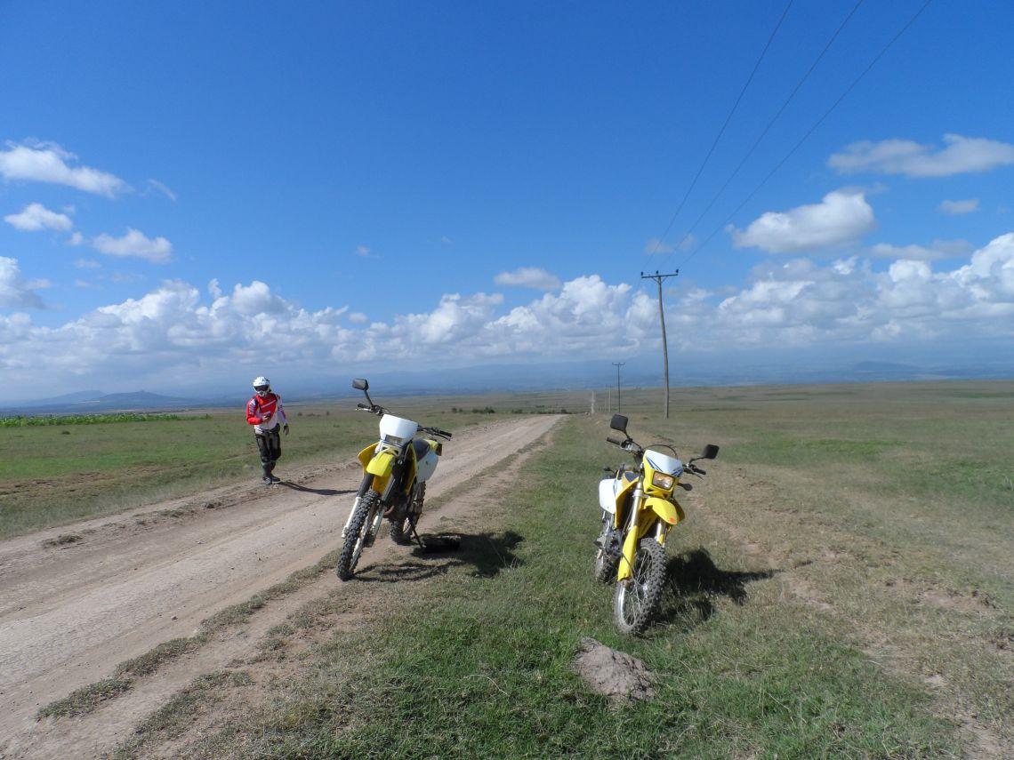 Big skies, Nyeri to Mount Kenya