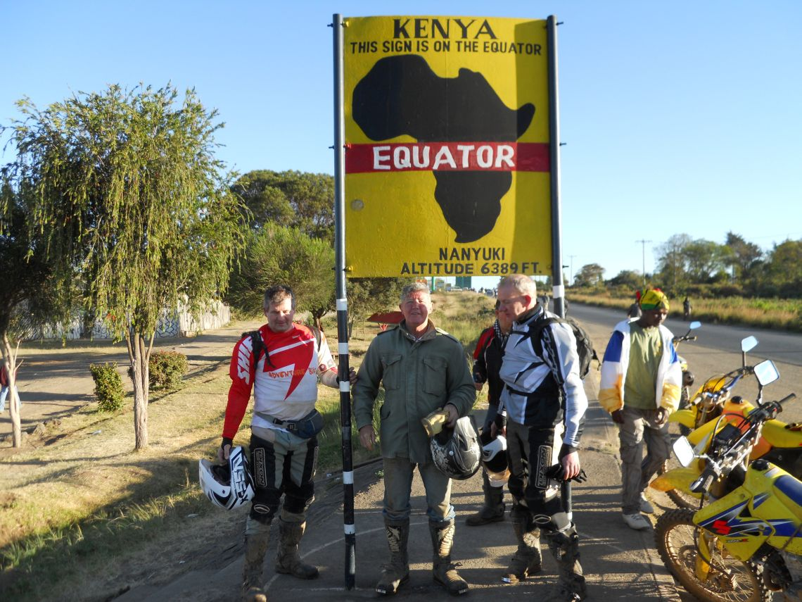 Brendan Reg Andy Equator