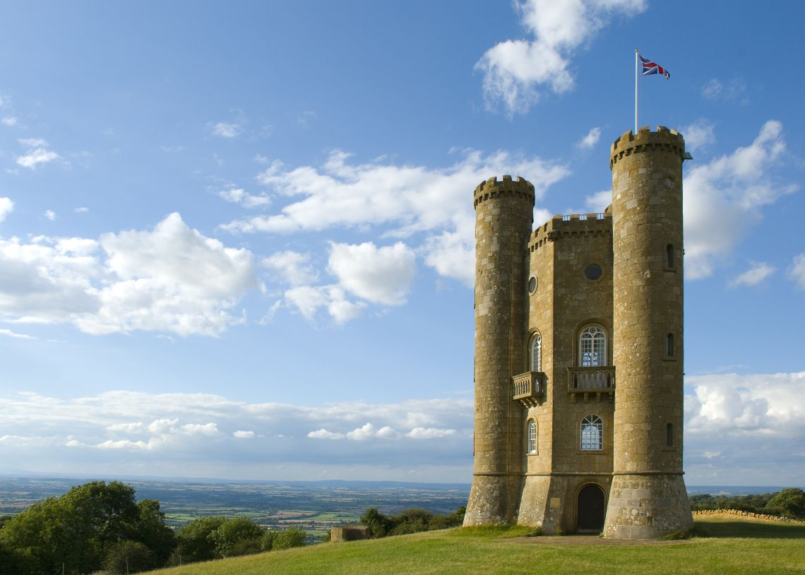 Broadway Tower in Summer
