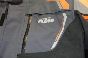 KTM chest vents