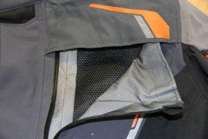 KTM chest vents open