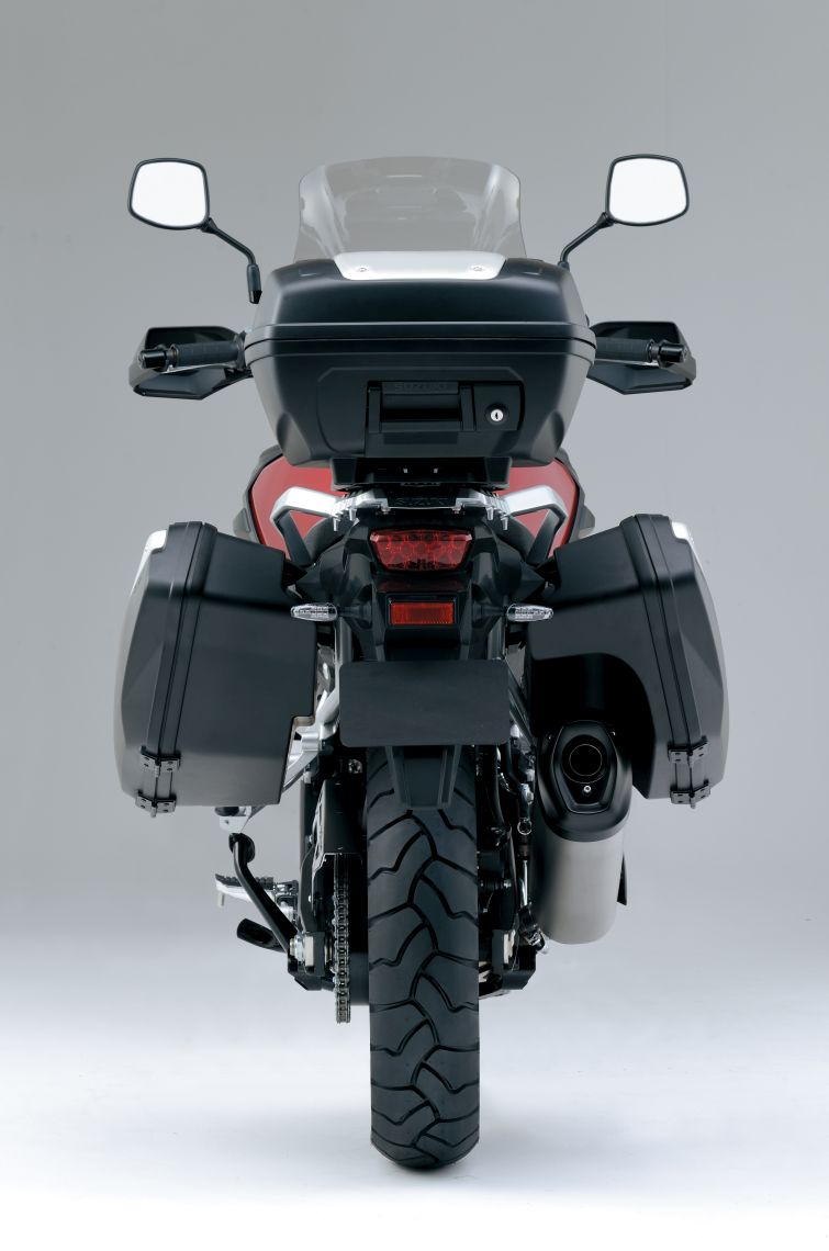 Luggage system Tailored to the bike