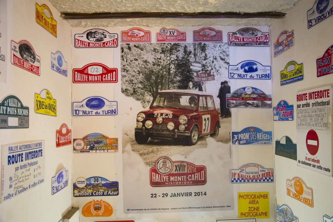 Monte Carlo Rally Signs