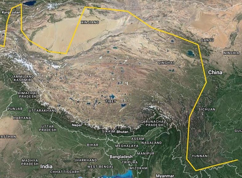 Route China