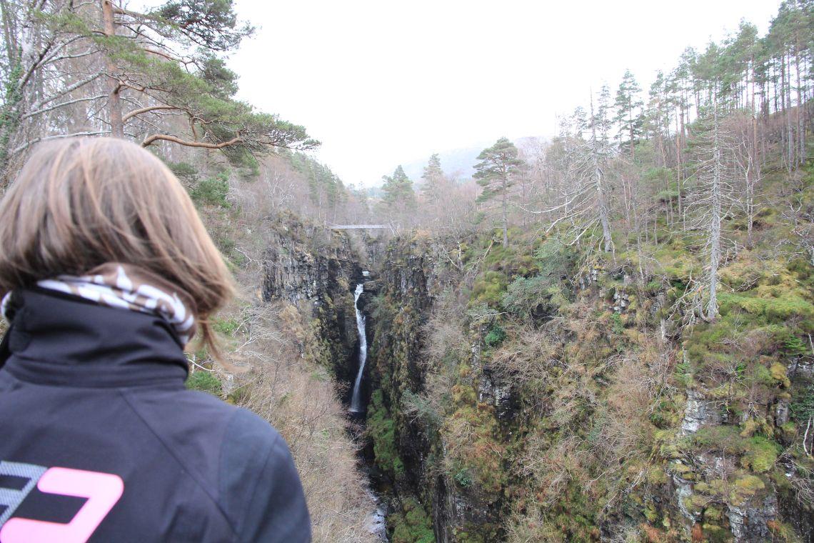 See - Corrieshalloch Gorge