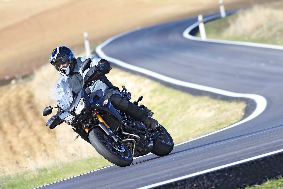 The Tracer is a top quality Yamaha motorcycle