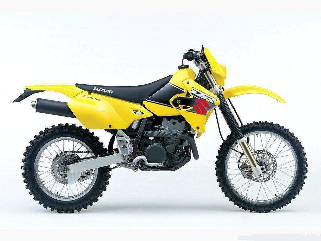 The bike DRZ 400