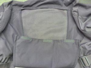 Triumph large back air mesh