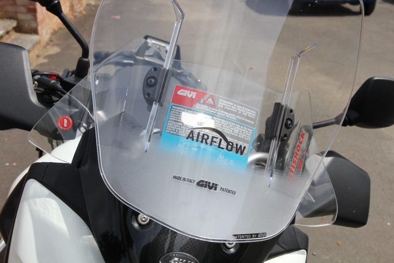 Givi Airflow screen