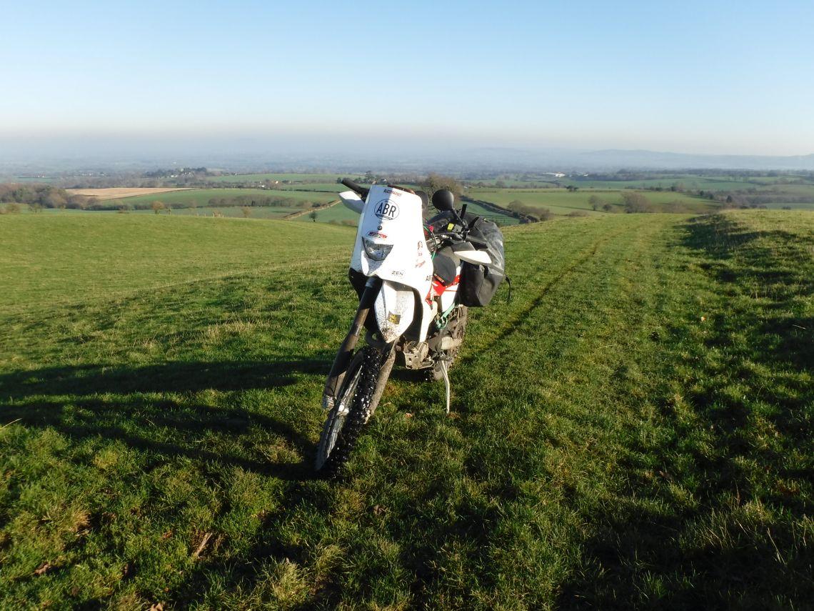 beautiful views of shropshire