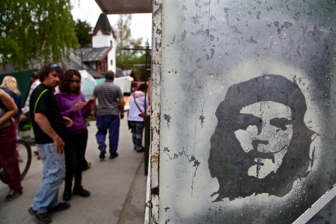 Che Guevara travelled along Ruta 40 on his tour of South America
