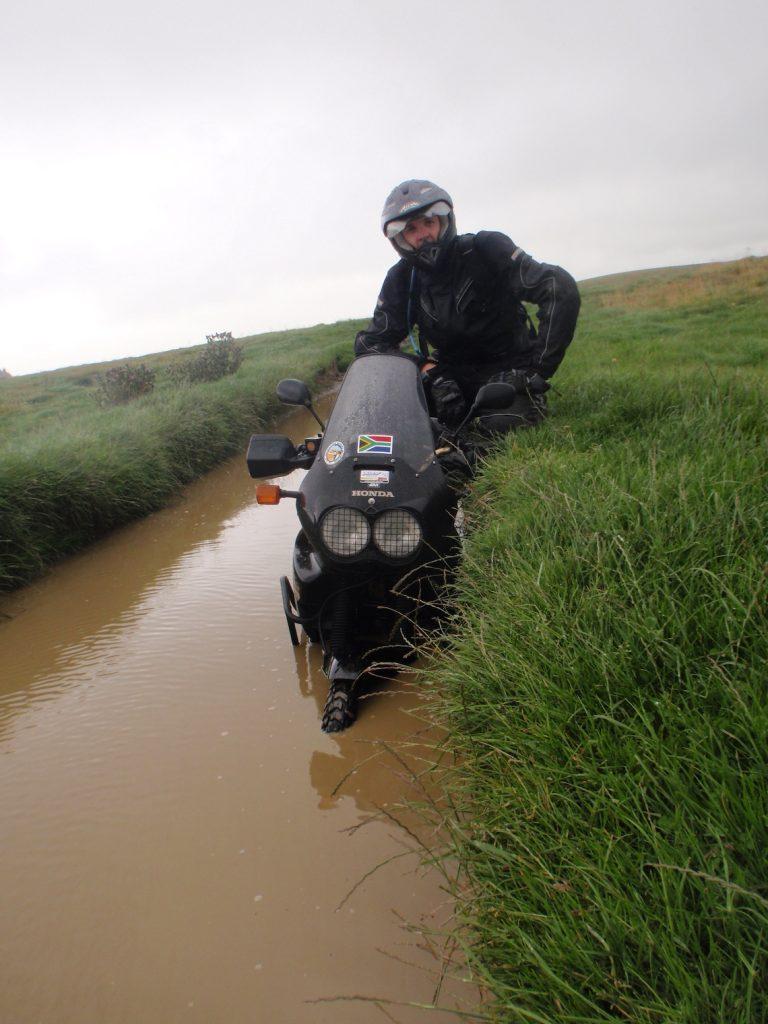 deep puddles