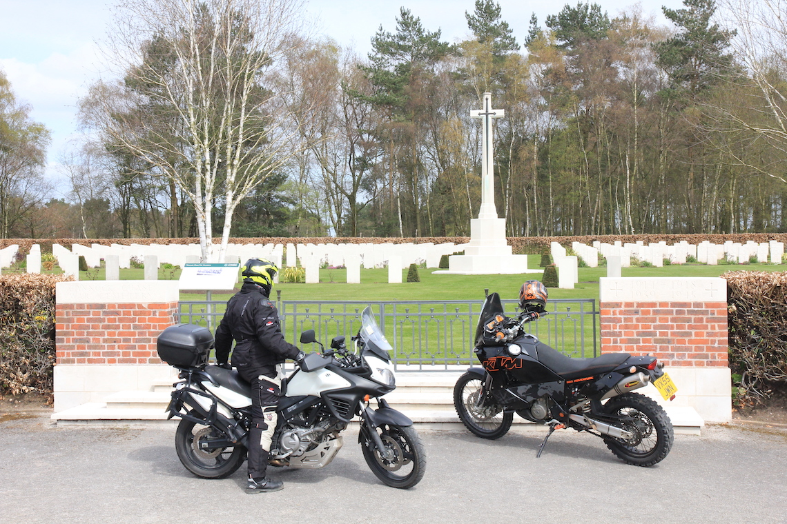 The German Commonwealth War Memorial at Cannock Chase