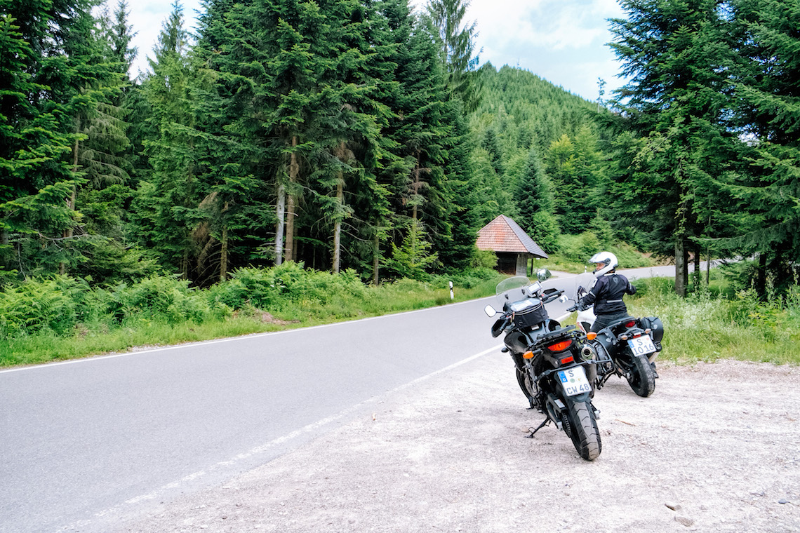 Stop-off in The Black Forest