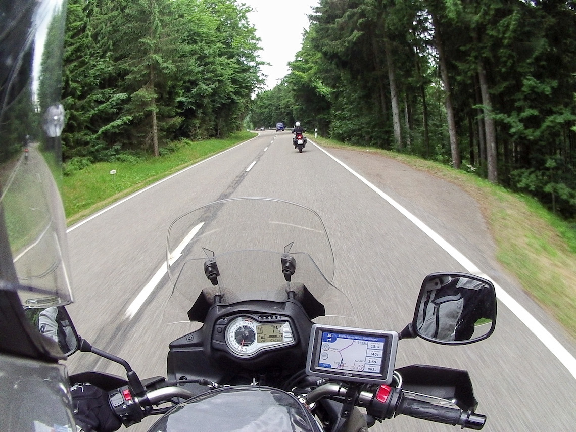 Riding through The Black Forest