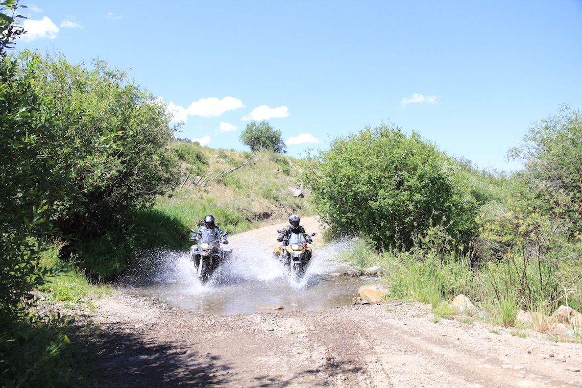 Fun riding