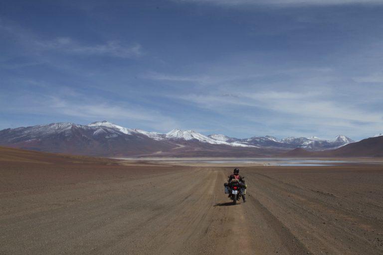 Riding in Bolivia