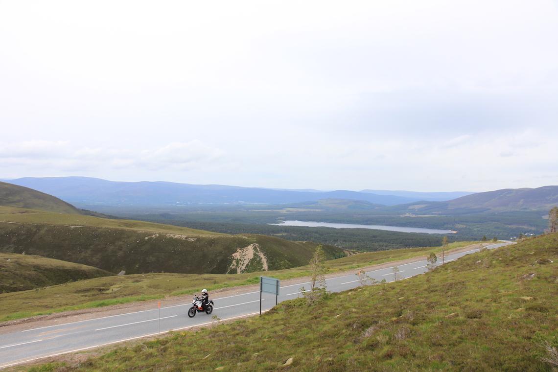 Across the Cairn Gorm Mountain