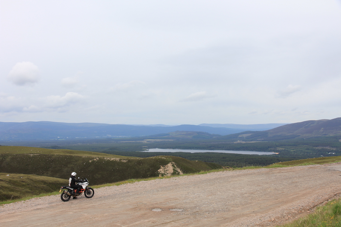 Views over the Cairngorms