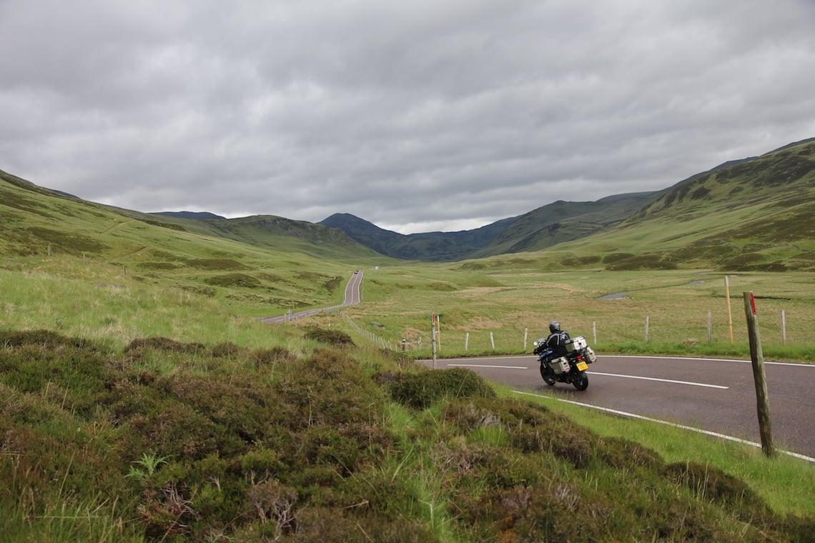 The Glen Shee road