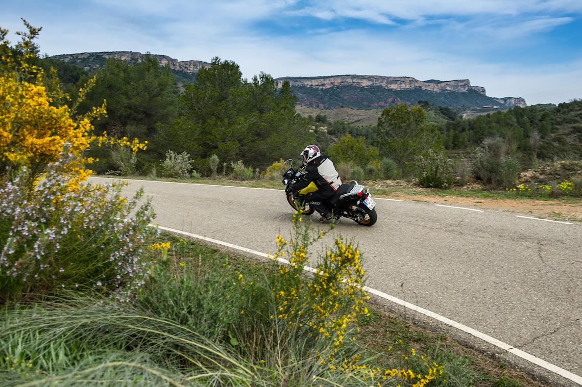 Through the Spanish mountains