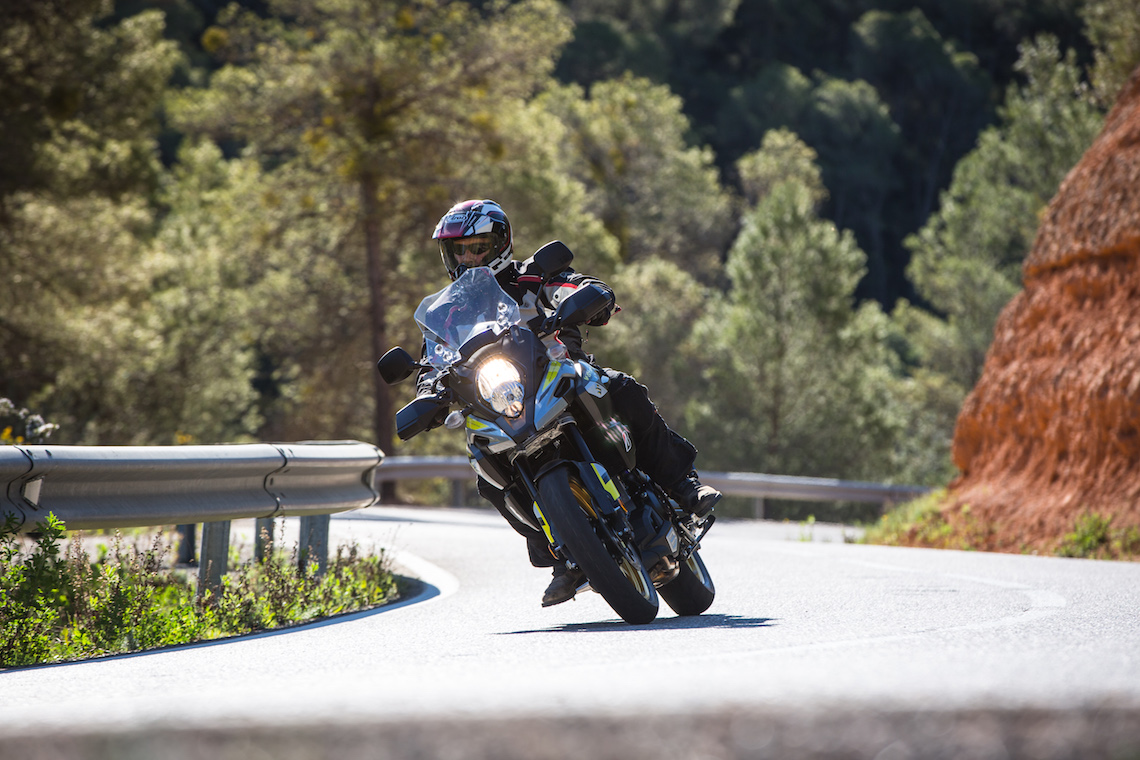 At home on the mountain roads of Spain