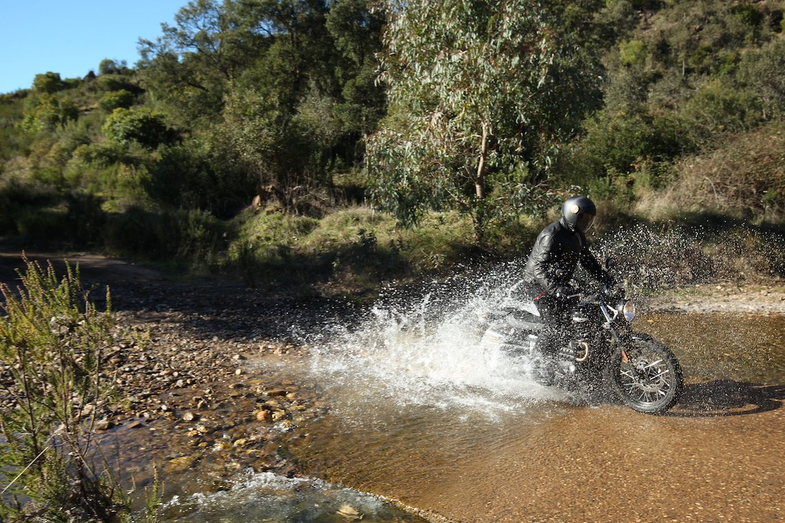For gentle off-roading, it's more than adequate