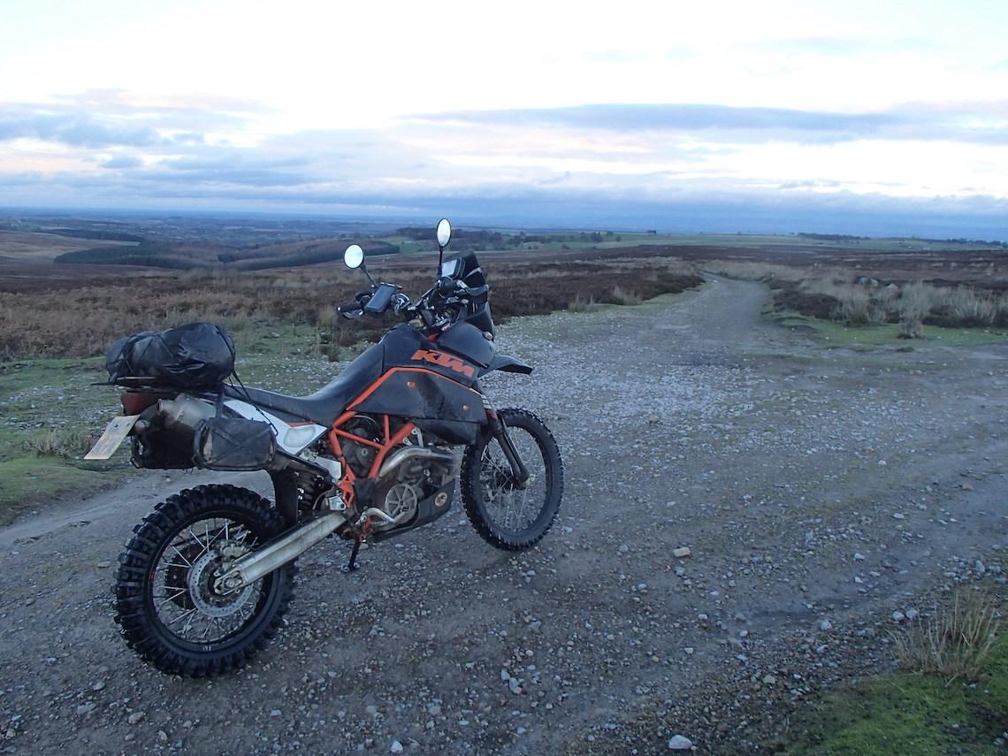 It's bleak on the moors