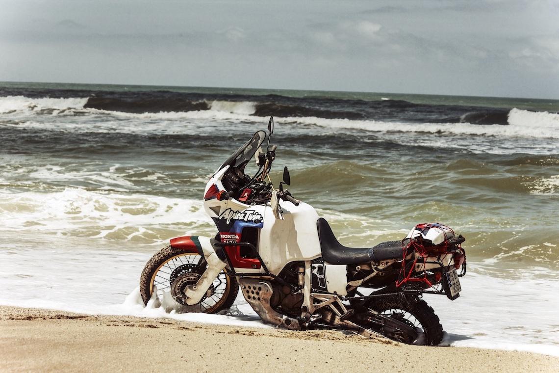 Motorcycle Static Sea