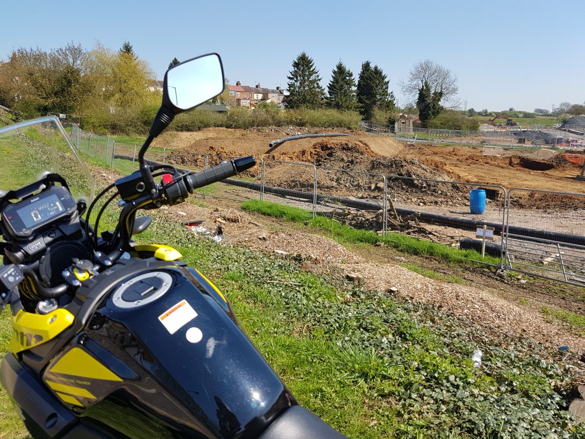 pillbox under development near rugby