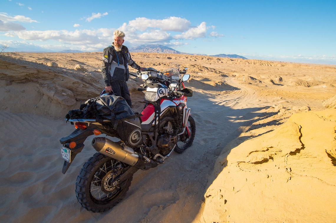 Riding in Baja