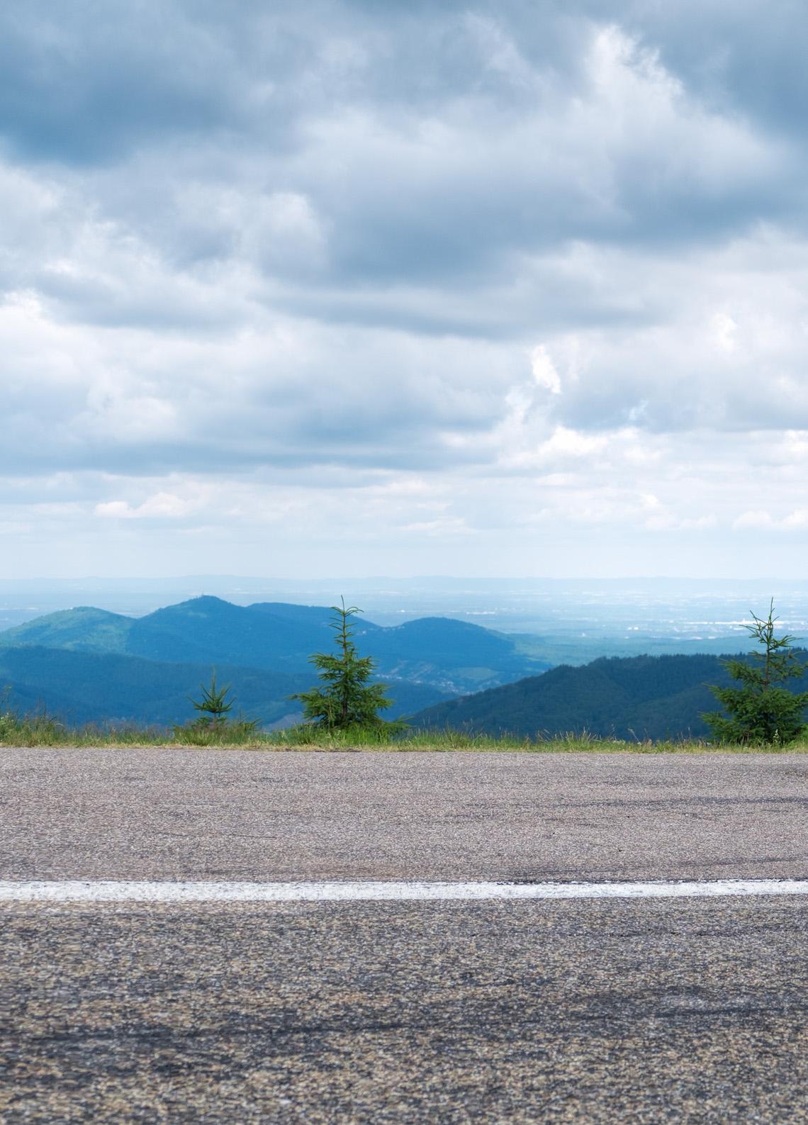 Ardennes roadside