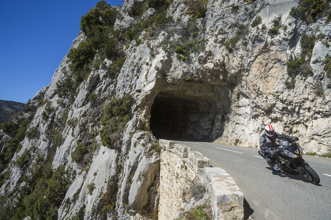 On the twisty mountainous roads of southern france the Tiger was in its element