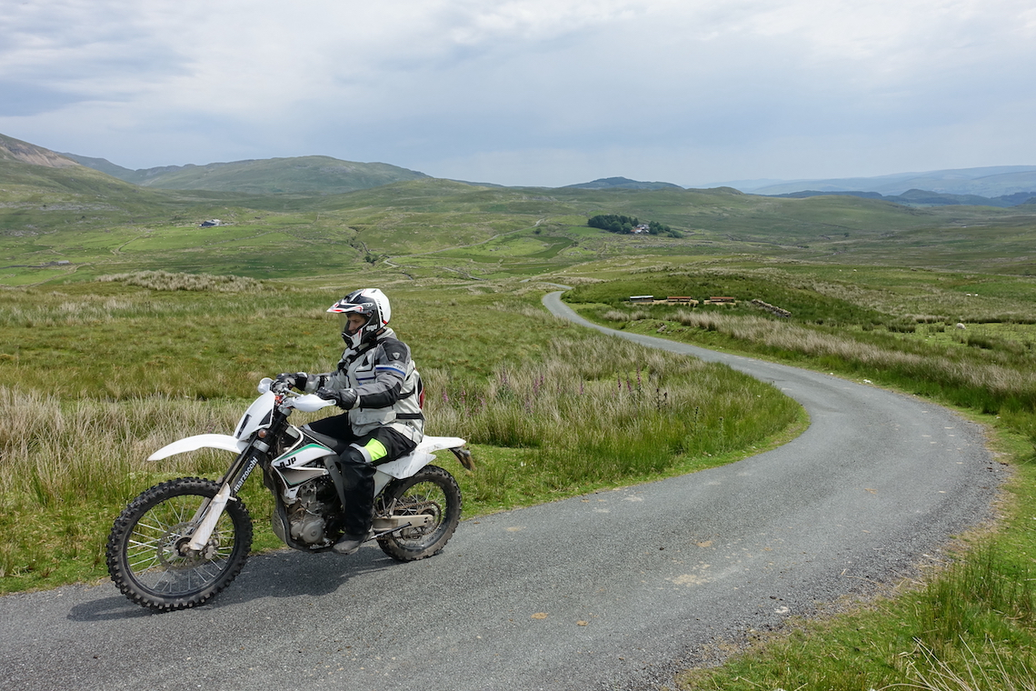Wales highest passes