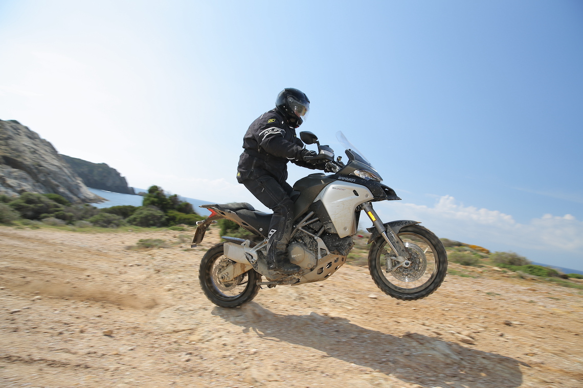 Pulling wheelies off-road at speed on a big bike has never been easier