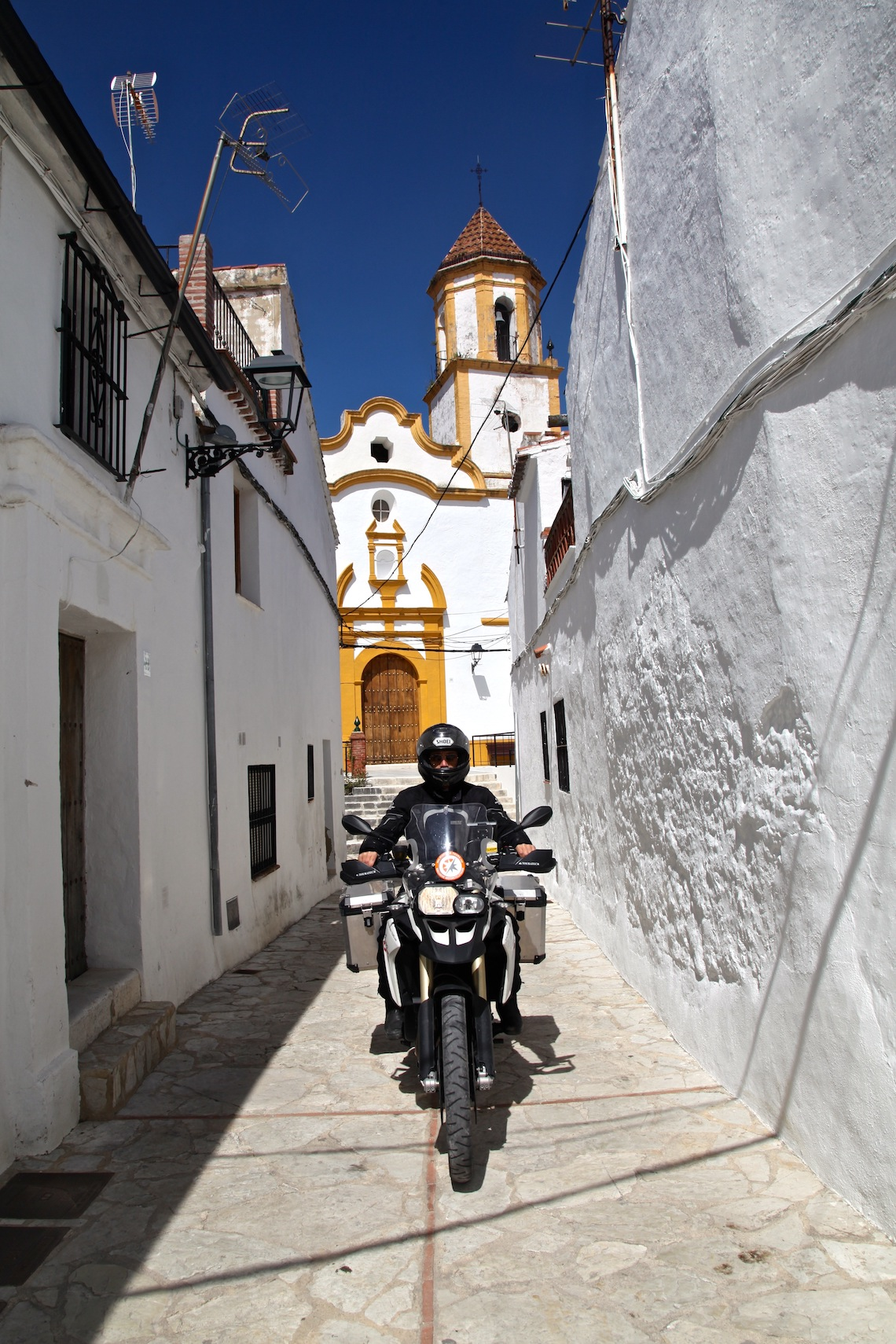 white buildings of Andalusia