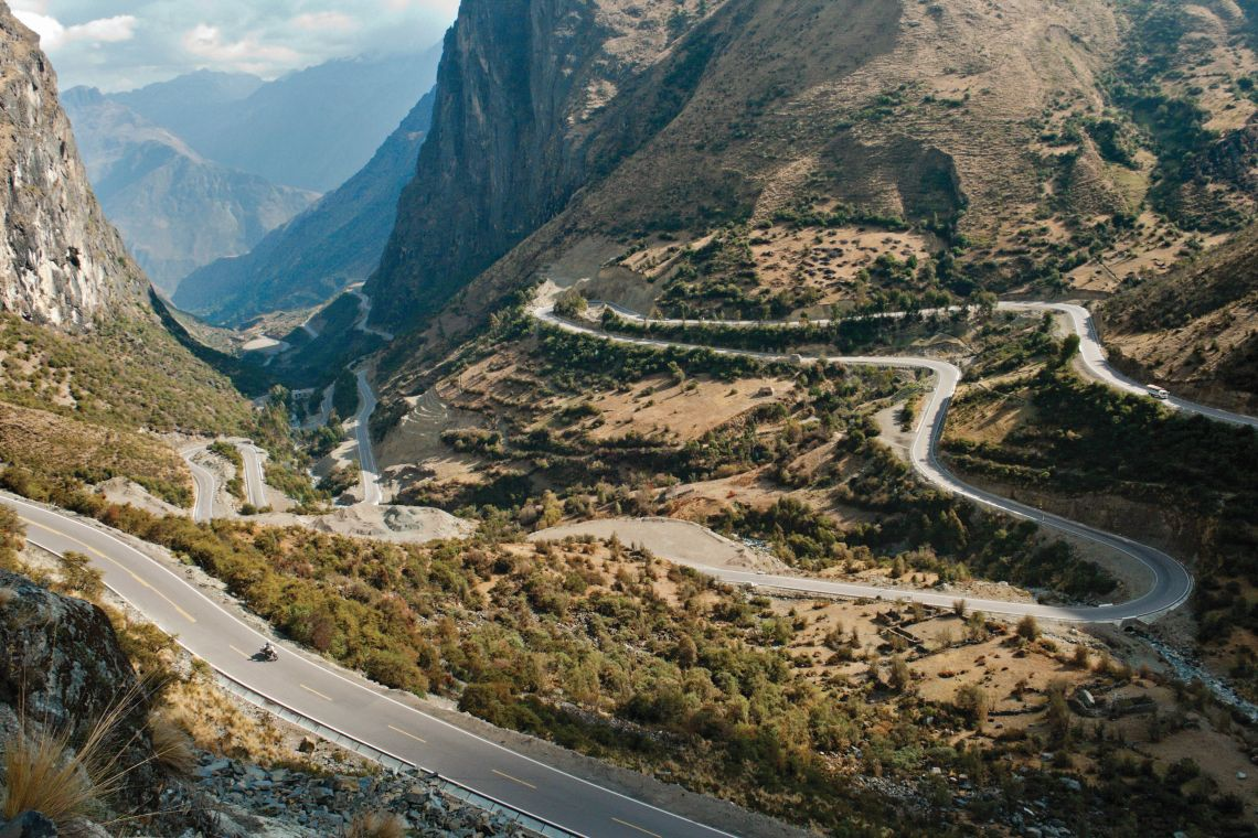 40 hairpins in 15 miles
