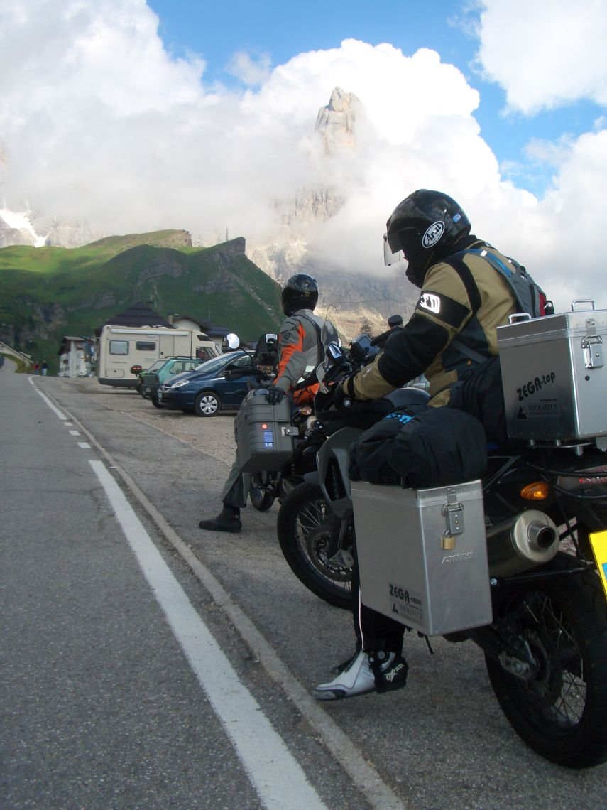 Alps motorcycle trip July 09 065