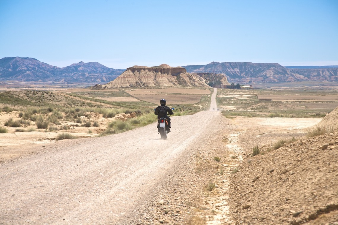 routes in northern spain bardenas reales