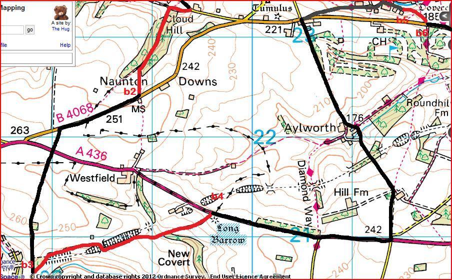 Bonus Route b2 to b6