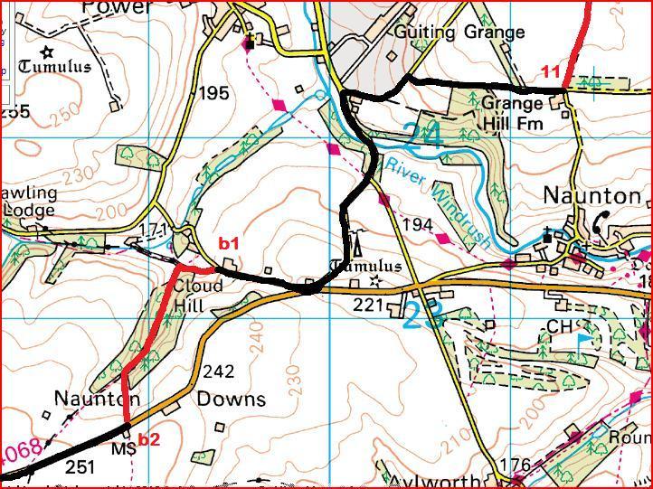 Bonus route 11 to b2