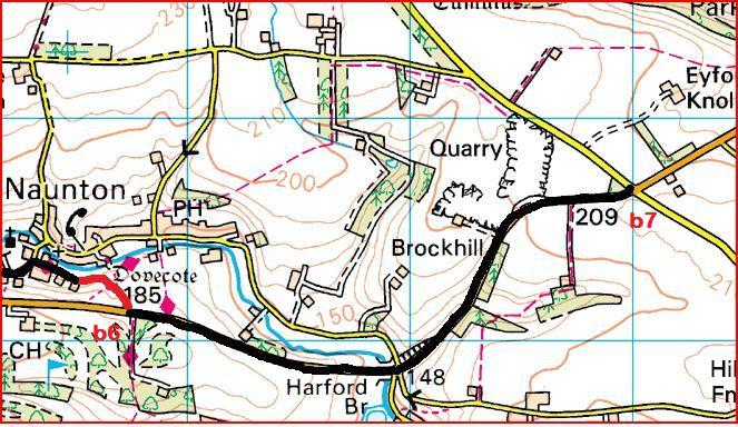 Bonus route b6 to b7