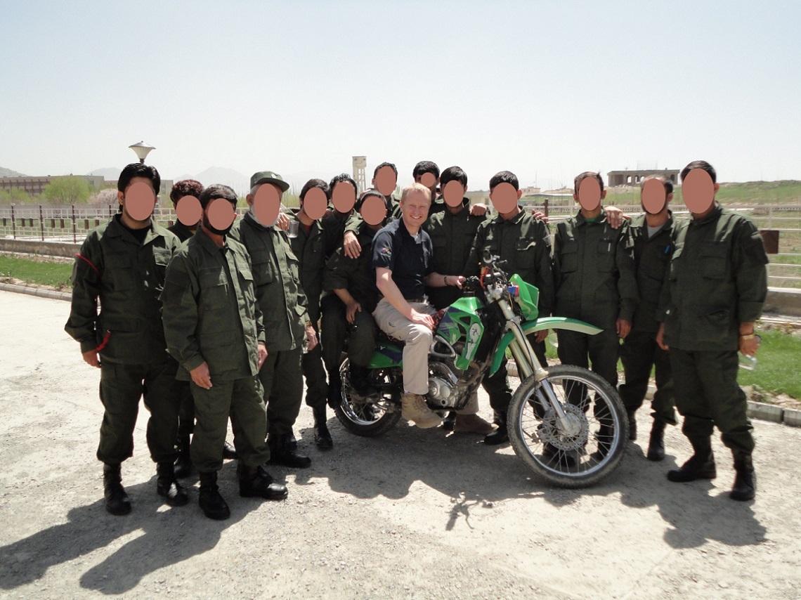 Caspian 250cc the team rebuilt