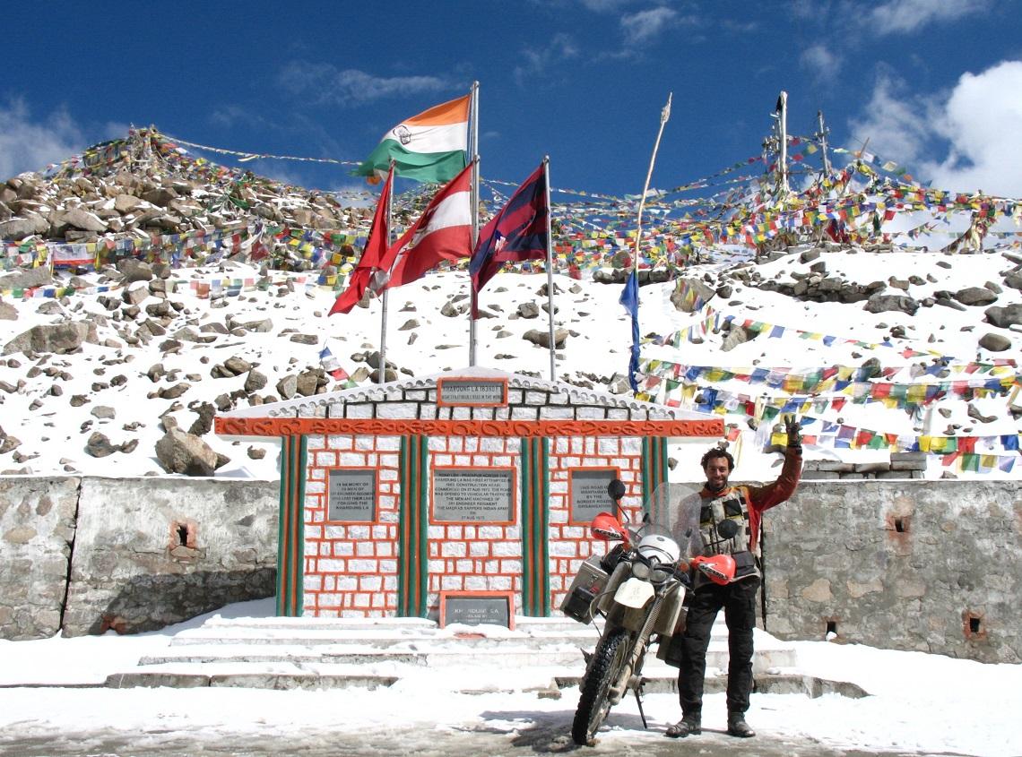 Conquering Khardung Pass at 5,358m