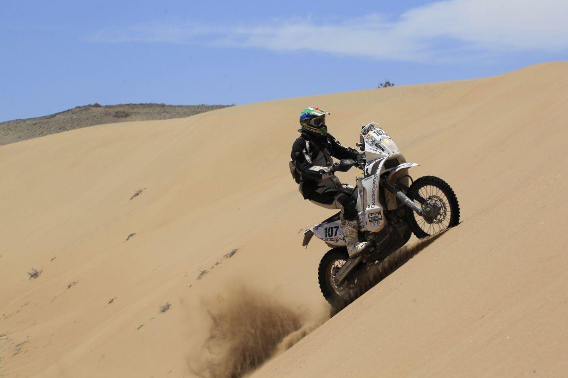 Craig sand dune shot