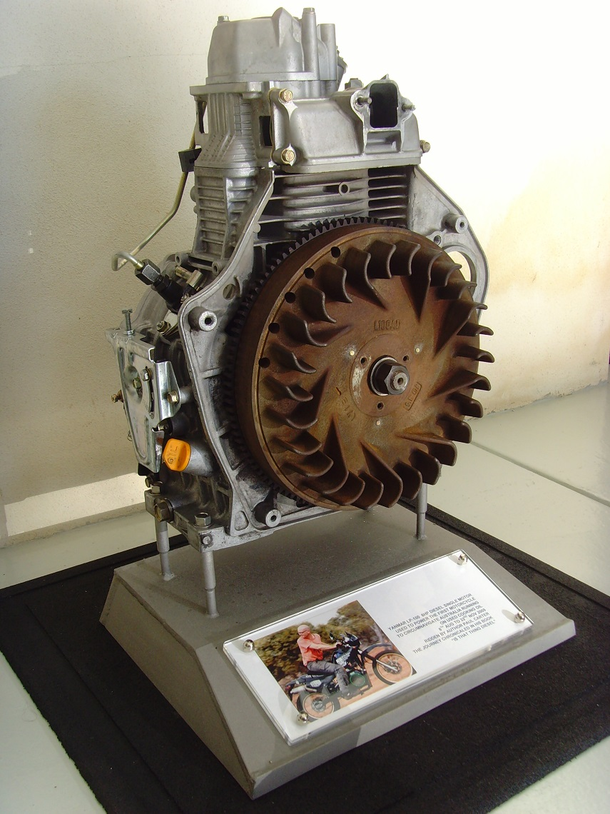 Engine in the museum