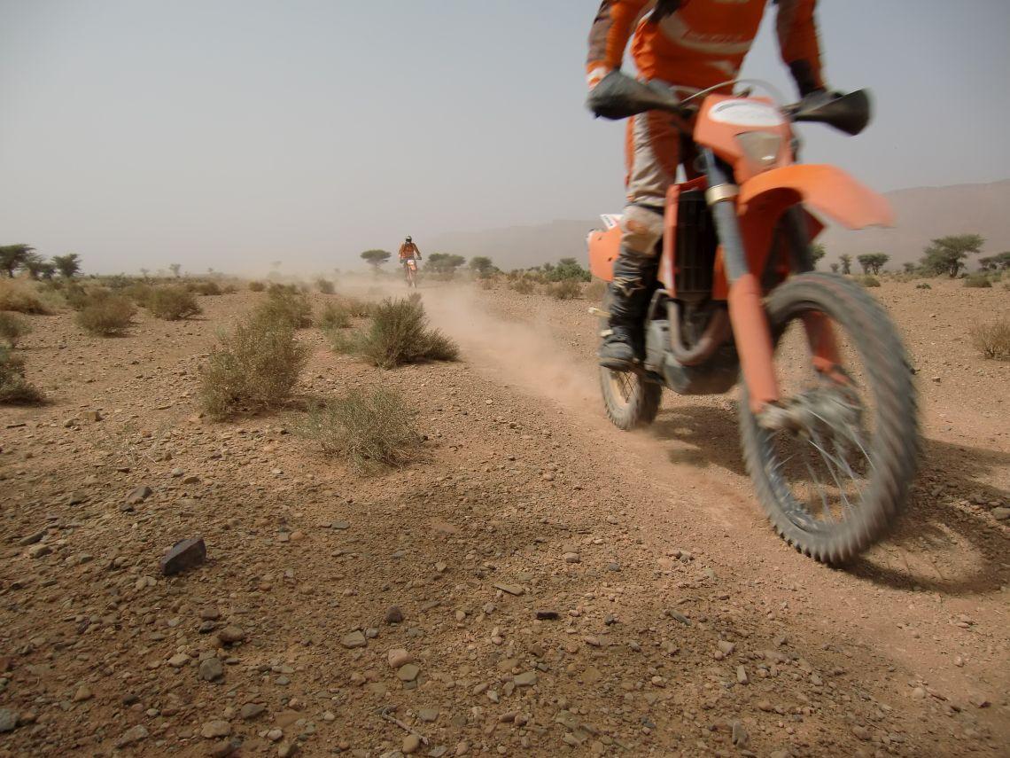 Hard packed trail near Agdz
