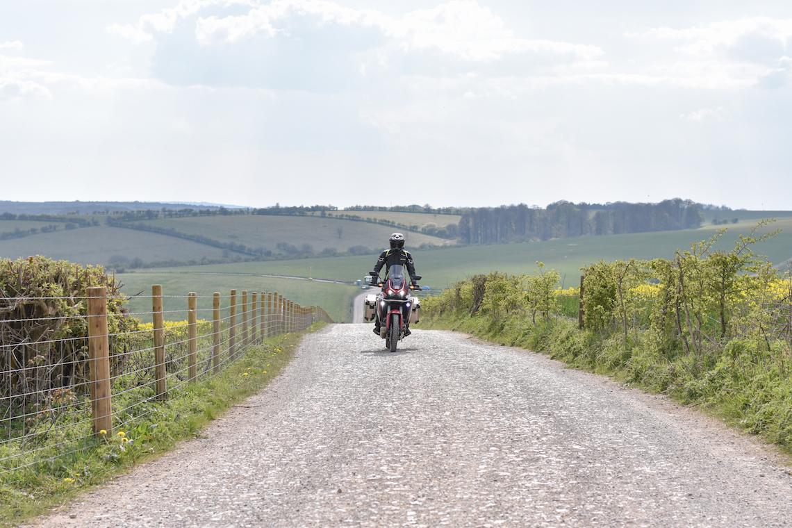 adventure biking day route
