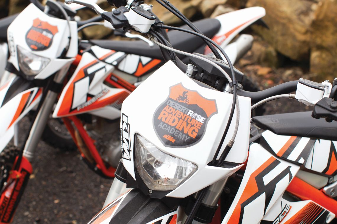 KTM the bike of choice for budding off-roaders